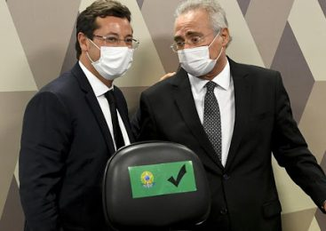 Vídeo: Renan pede prisão de Wajngarten e Flavio Bolsonaro o chama de 'vagabundo'