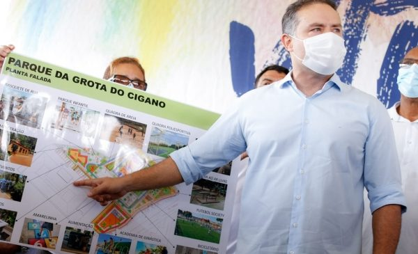 Governo do Estado inova no desenvolvimento com construção de parque linear e clínica da família