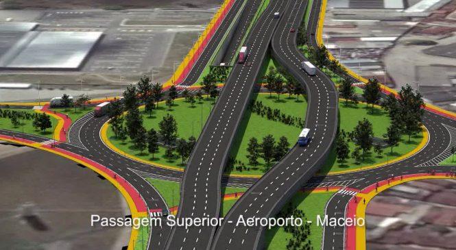 Renan Filho não vai 5ª ao viaduto, obra construída com recursos dos governos Dilma e Temer