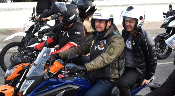 """É mentira que motociata de Bolsonaro em SP com """"1,3 milhão de motos"""" entrou no Guinness"""
