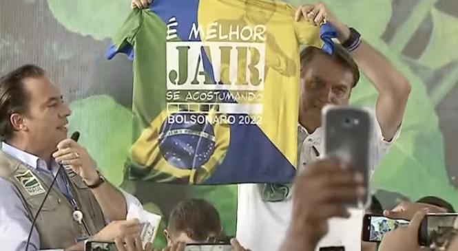 Ministério Público quer punição do TSE a Bolsonaro por propaganda eleitoral antecipada