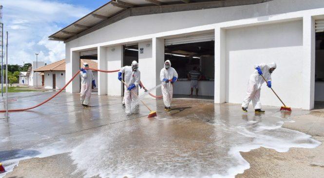 Centro Pesqueiro é fechado para mutirão de limpeza