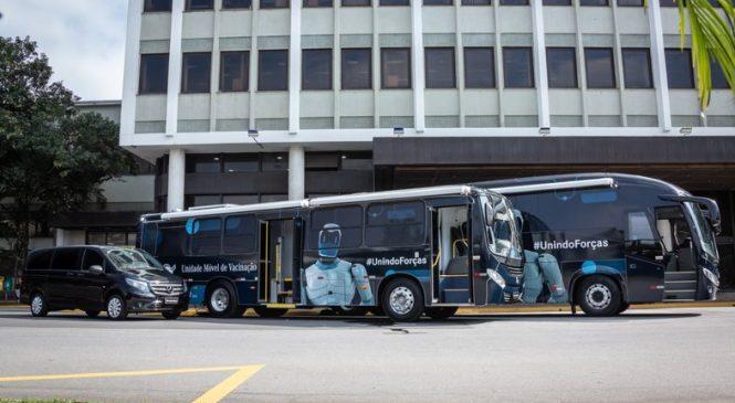 Maceió será primeira cidade do Brasil a receber unidade de vacinação montada em ônibus