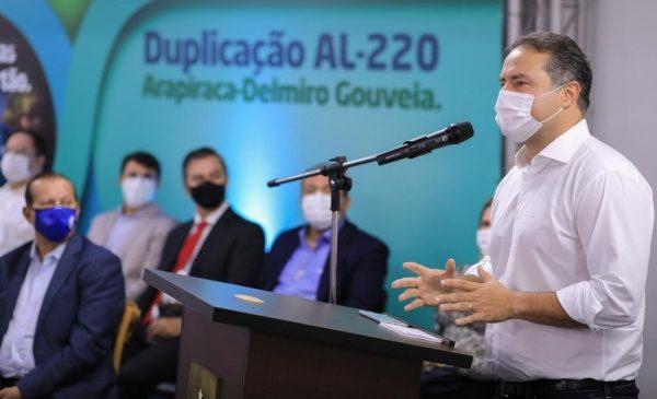 Governo de Alagoas vai investir R$ 1 bilhão na duplicação de rodovias até o final de 2022