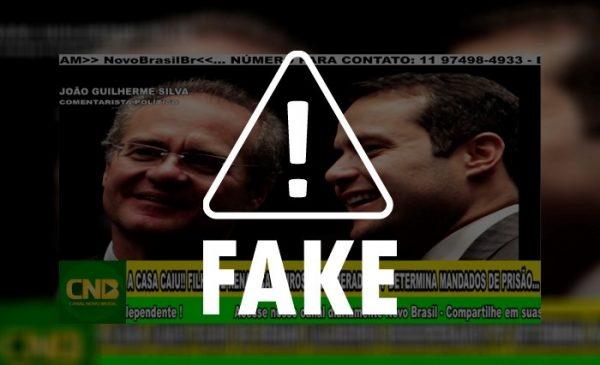 É mentira que Governo de Alagoas seja alvo de operação da Polícia Federal