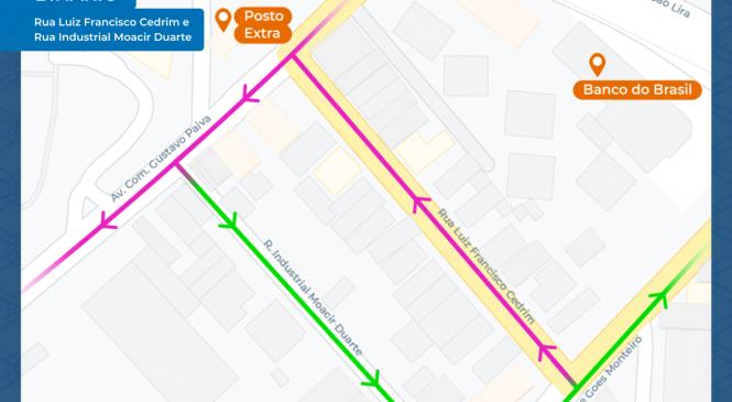 SMTT altera sentido de ruas no bairro de Mangabeiras a partir deste sábado