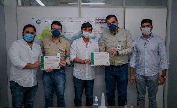 Sedetur e IMA entregam licença ambiental para operação da Mineração Vale Verde