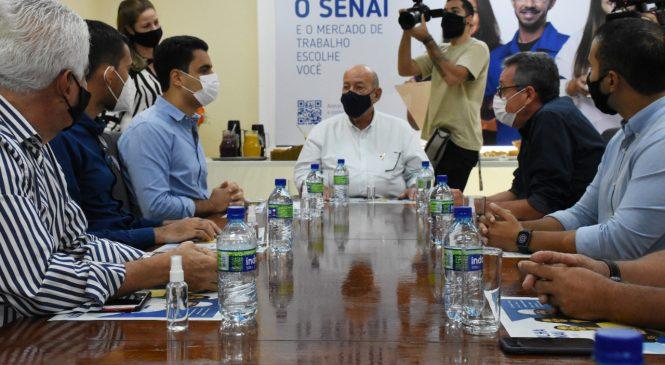 Senai reinicia cursos em parceria com a Prefeitura de Maceió, beneficiando jovens e adultos carentes