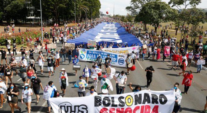 Oposição realiza neste sábado mais um ato 'Fora Bolsonaro' em centenas de cidades do País