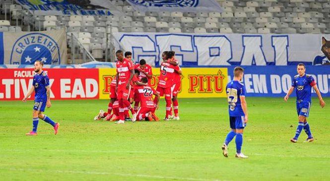 CRB, emocionante, vence o Cruzeiro no Mineirão por 4 a 3