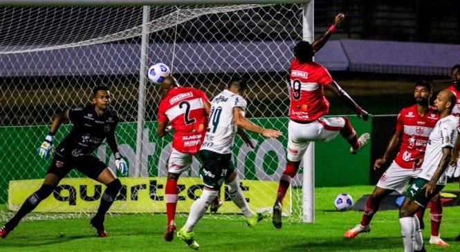 CRB de triste futebol, não empolga e é derrotado pelo Palmeiras