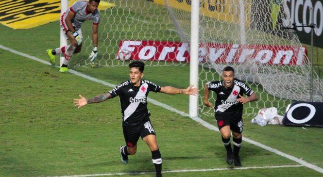 CRB não se encontra e perde para o Vasco da Gama de 3 a 0 em São Januário