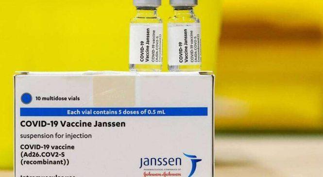 Brasil recebe na terça-feira 3 milhões de doses da vacina Janssen dos EUA