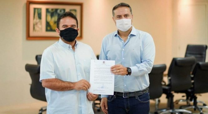 Renan Filho e Marcelo Victor ajustam os pontos para a disputa das eleições de 2022