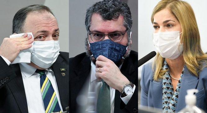 STF mantém quebra de sigilo de ex-ministros e da Capitã Cloroquina na CPI da Covid-19