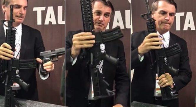 Alagoas liderou em 2020 com aumento de quase 700% de registro de novas armas