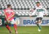 CRB faz um bom jogo e garante um empate contra o Coritiba fora de casa