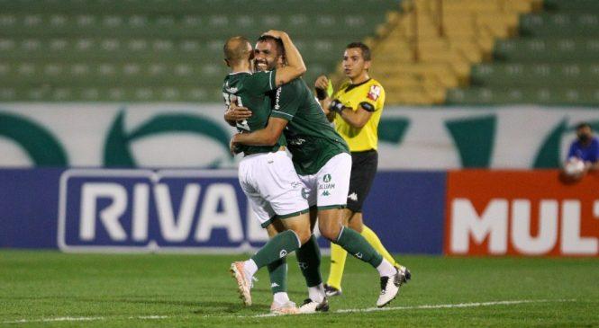 CRB perde para o Guarani e perde vaga no G4 da Série B
