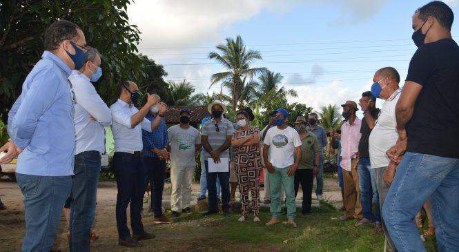 Dirigentes do Incra discutem titulação de terras para assentados em Maragogi