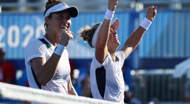 Bronze: Com dupla feminina, Brasil leva sua primeira medaha olímpica no tênis de toda história