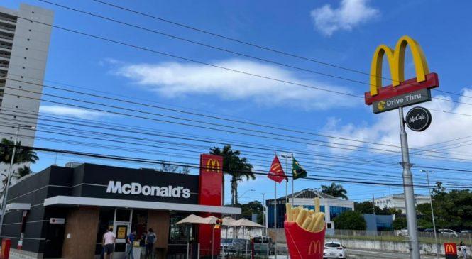 McDonald's inaugura seu 7º restaurante em Alagoas