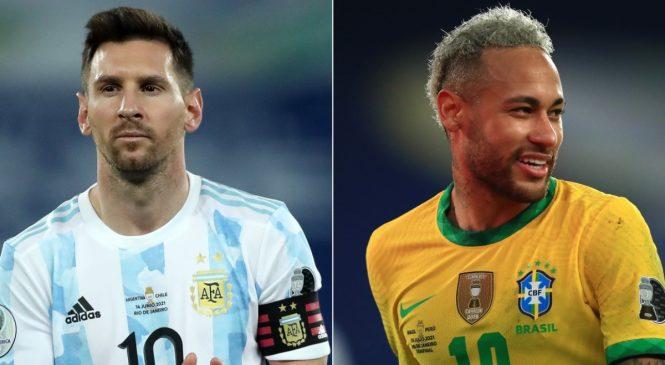 Brasil e Argentina fazem final da Copa América com público no Maracanã
