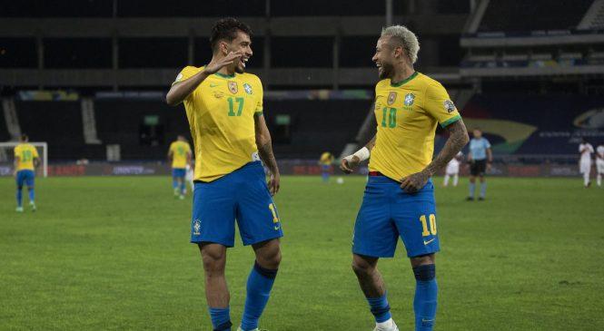 Brasil chega à final da Copa América e SBT alcana primeiro lugar na audiência em Manaus e Goiânia