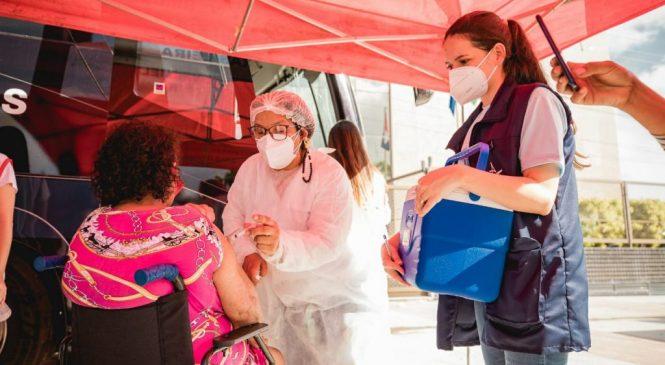 Ônibus da Vacina ficará em Maceió até 22 de julho