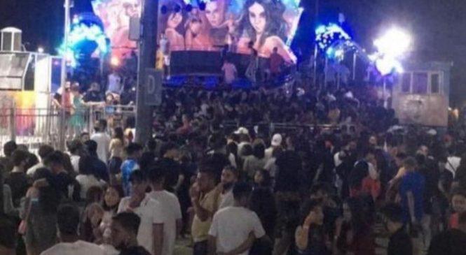 Vídeo: Promoção em parque de diversões no Pátio Maceió provoca superlotação, briga e correria