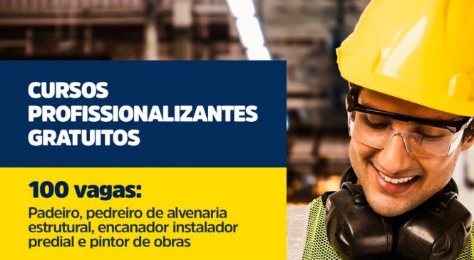 Inscrições para cursos profissionalizantes começam hoje em Maceió