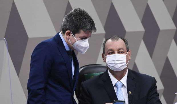 Omar Aziz e Randolfe Rodrigues definem próximos passos da CPI da Pandemia