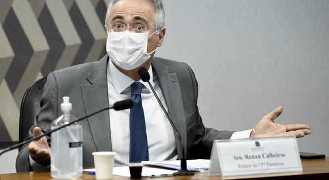 Renan diz que Bolsonaro deveria aproveitar hospital e fazer tratamento psiquiátrico