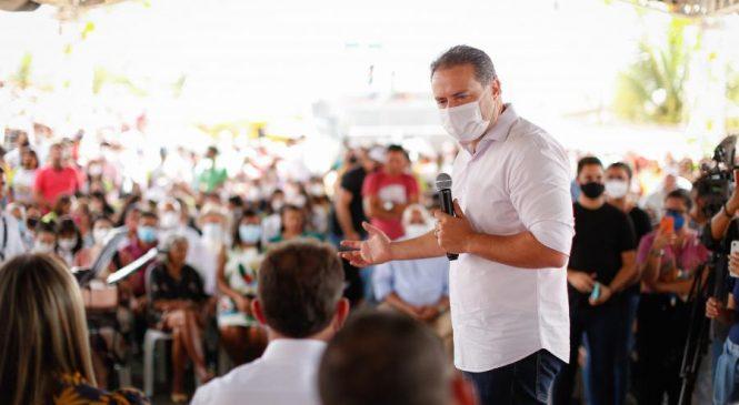 Renan Filho inaugura rodovia em Carneiros e anuncia investimentos em infraestrutura viária para o Sertão