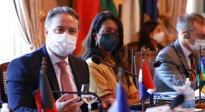 Renan Filho e demais governadores do Nordeste se reúnem com enviado especial dos EUA