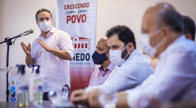Renan Filho anuncia duplicação entre Maceió e Penedo, além de nova delegacia regional