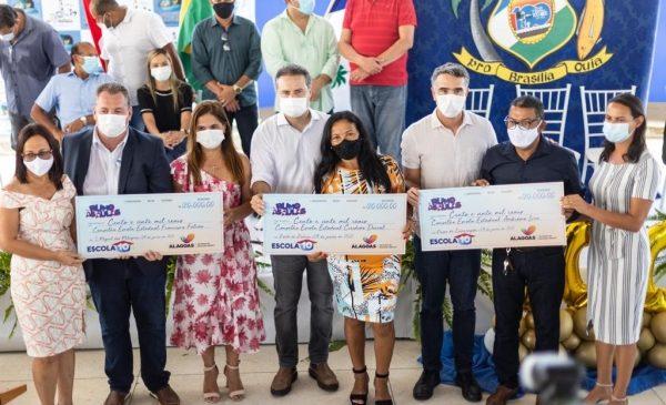 Governo de AL descentraliza R$ 40 milhões para reestruturar escolas para volta ao presencial
