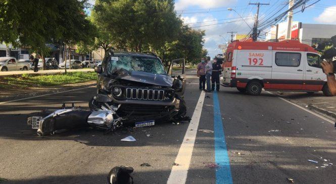 Justiça decide neste sábado se libera ou solta motorista que matou 2 motociclistas na Fernandes Lima