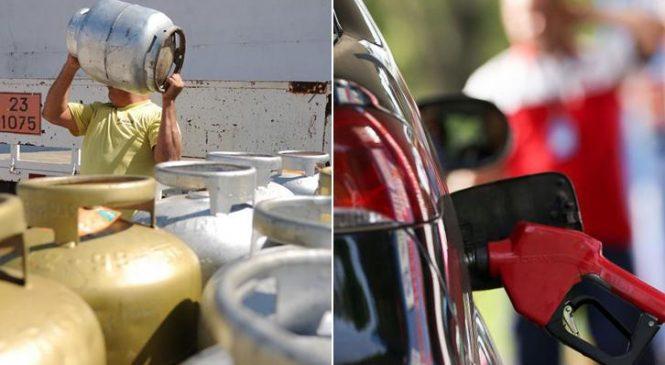 Gasolina, Diesel e gás de cozinha aumentam de uma só vez nesta terça-feira