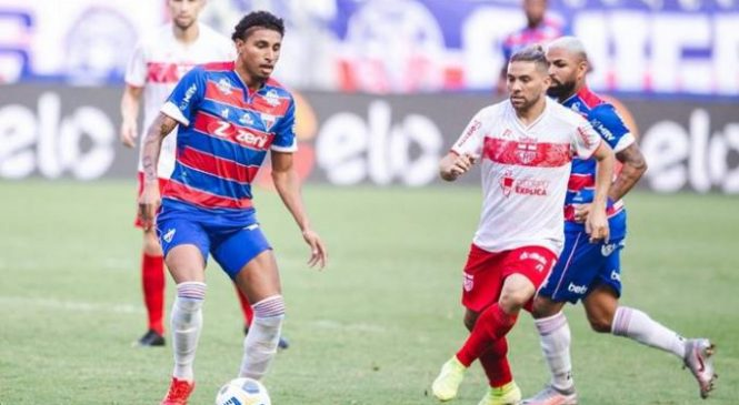 CRB vacila no Castelão e perde para o Fortaleza por 2 a 1 na Copa do Brasil