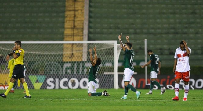 Ruim e sem objetividade, CRB volta a falhar na defesa e perde para o Guarani