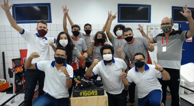 Equipe da Escola Sesi Cambona vence desafio internacional de Robótica