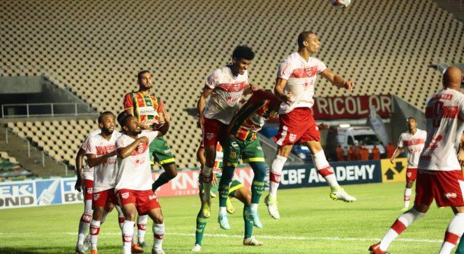 CRB assume terceiro lugar no G-4 com grande vitória contra o Sampaio Correa