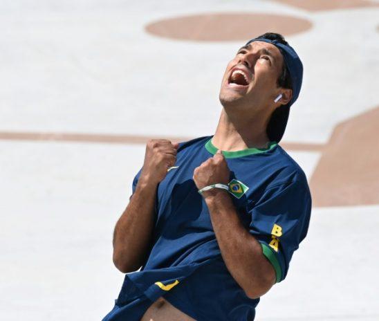 Primeira medalha do Brasil nas Olímpiadas do Japão é do skatista Kevin Hoefler