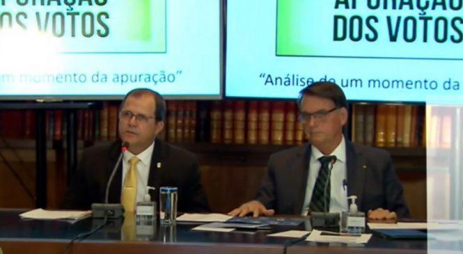 Ao TSE, Bolsonaro nega ter feito ataques às urnas eletrônica e diz que só queria auditoria