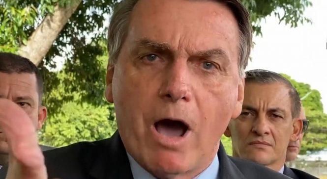 Bolsonaro diz que não pode aceitar passivamente a prisão de aliados