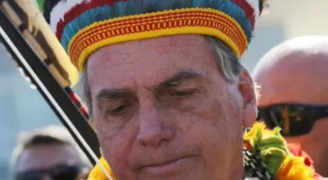 Bolsonaro diz que 'índio quer trabalhar e pagar imposto'