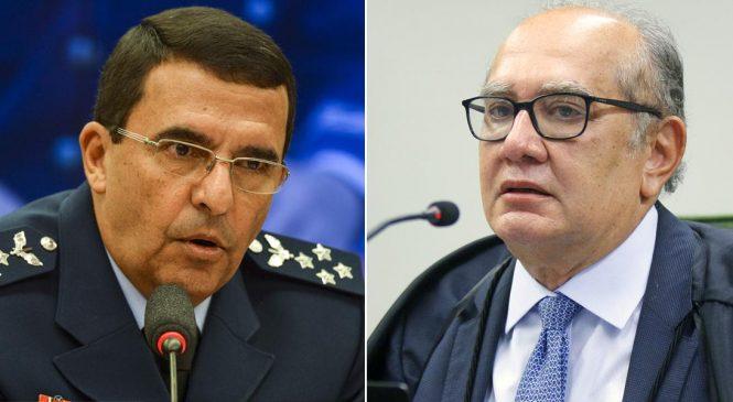 Comandante da Aeronáutica procura Gilmar Mendes e nega apoiar golpe