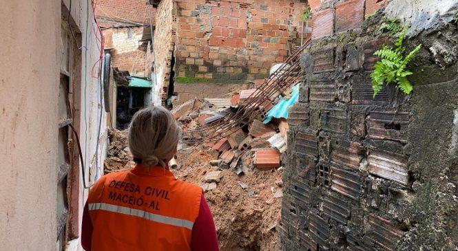 Defesa Civil de Maceió registrou 89% da chuva esperada para agosto em quatro dias