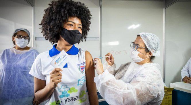 Maceió prossegue com vacinação de maiores de 16 anos contra Covid-19