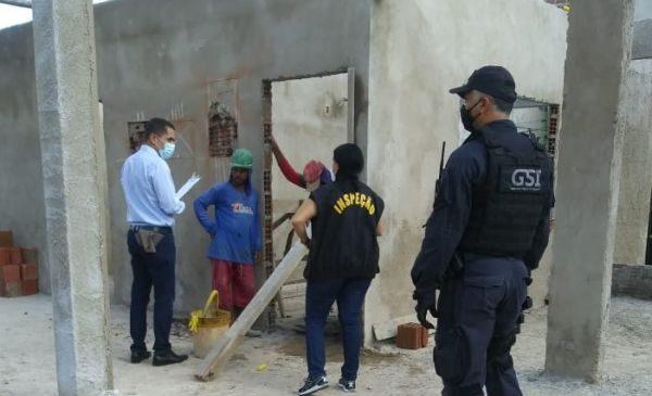MPT identifica irregularidades trabalhistas em canteiro de obras da Prefeitura de Maceió